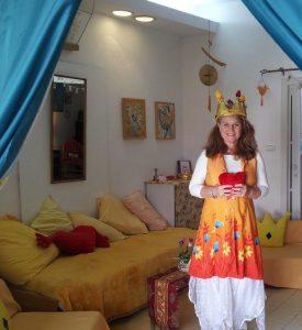 Eva in Tulip Love Center Jerusalem