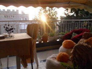 Tulip Center Jerusalem Sunset